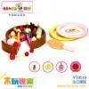 木玩世家供应木制益智玩具  生日蛋糕