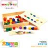 木玩世家供应木制益智玩具    串珠智力盒
