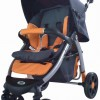 G505豪华型婴儿手推车/超强避震/婴儿车/童车(桔+灰)