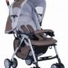 G306两次拆叠带肩带轻便型婴儿手推车/童车(卡其色)