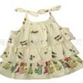 【朵飞婴童服饰】夏威夷-三折吊带背心-8L086