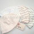 【朵飞婴童服饰】小圆点 婴儿帽子 M906 纯棉