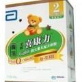 雅培2段 400克 盒装 较大婴儿喜康力 智护系列
