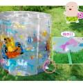 曼波鱼屋最新彩绘版海底探宝婴儿游泳池送洗发帽