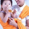 贝尔兰育儿巾 纯棉有环扣婴儿背巾 BL144