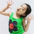 2010夏款童装,女童无袖T恤,上衣背心10524