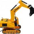 供应遥控车/新款6881覆带工程挖车