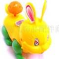 供应拉线兔 塑胶儿童玩具