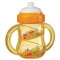 正品澳贝/奥贝婴儿启蒙玩具奶瓶摇铃