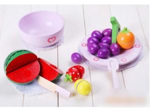 优木西瓜套装水果套 木质儿童益智玩具热销宝贝