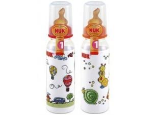 NUK高强度奶瓶 高品质塑胶制造