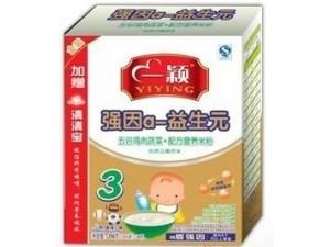 宝宝辅食中的黄金搭档 一颖奶米粉系列