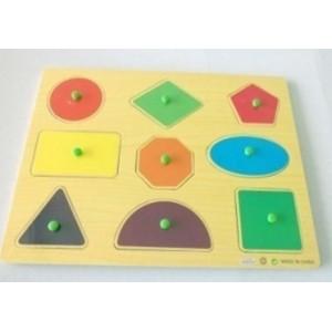 浙江锋顺玩具有限公司\木制益智玩具\教育学习玩具\几何拼图