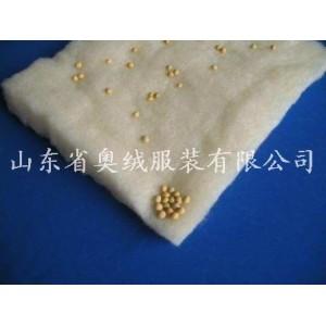 大豆纯棉热熔棉絮片、羊绒絮片、竹纤维棉