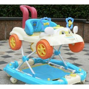 蓝色 囡囝好摇马式婴儿学步车