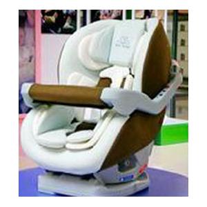 哈罗贝比咖啡色韩国安全座椅