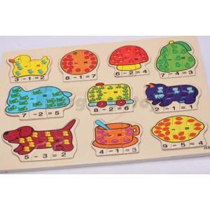 锋顺玩具批发/益智拼图/颜色动物认知/婴童教育/趣味认知拼图