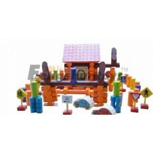 木质玩具学前教育玩具木制积木玩具益智玩具外贸玩具过家家游戏
