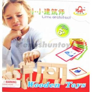 木质玩具配送木制积木玩具益智玩具外贸玩具过家家游戏智力开发