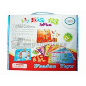 新款木制玩具批发学前教育玩具智力组装玩具幼儿园教具室内玩具