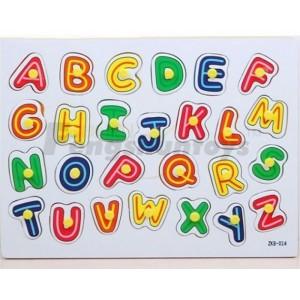 浙江锋顺玩具批发\益智拼图\英文字母\宝宝抓取玩具\字母拼图