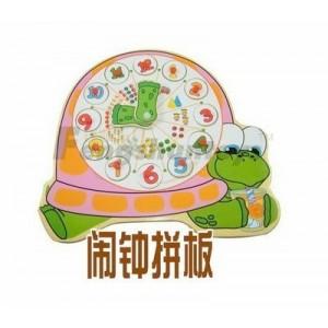 浙江锋顺玩具\婴童玩具\数字认知\学习教育\乌龟时钟拼图