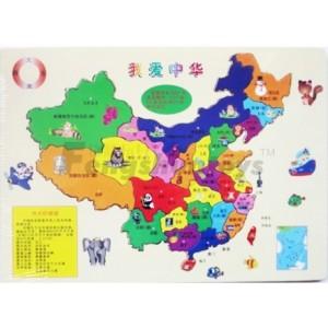地图 中国 浙江/浙江锋顺玩具有限公司木制玩具,教育学习/智力拼图/中国地图