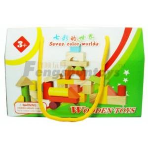 浙江锋顺玩具有限公司木质玩具学前教育玩具木制积木玩具益智玩具