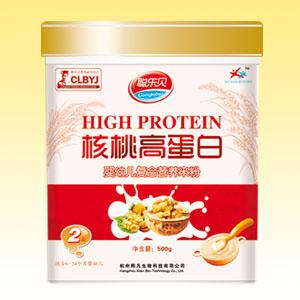 聪乐贝核桃高蛋白营养米粉全国招商