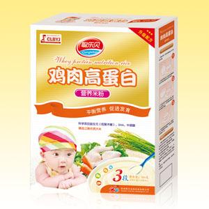 聪乐贝鸡肉高蛋白营养米粉全国招商