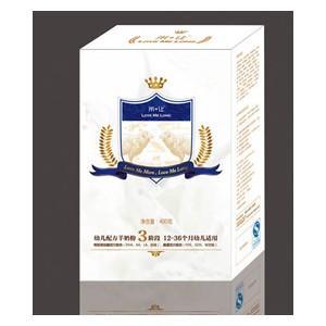 米让盒装幼儿配方奶粉