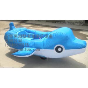 2011最新充气电瓶车儿童充气游乐设备儿童电动玩具车