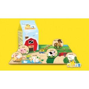 供应欢乐家拇指熊康吉系列玩具:康吉立体拼图