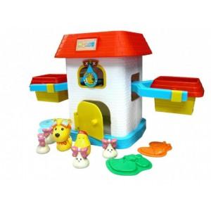 供应欢乐家拇指熊康吉系列玩具:康吉数屋