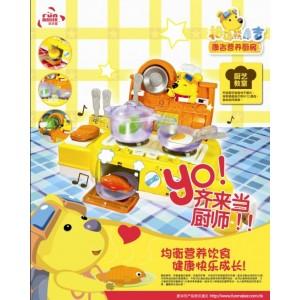 供应欢乐家拇指熊康吉系列玩具:康吉营养厨房