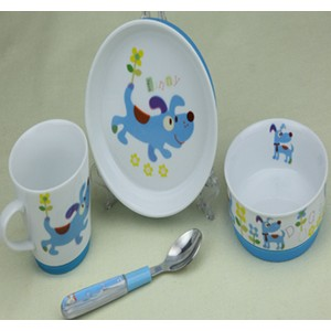 陶瓷防滑儿童餐具