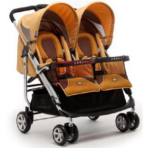 rSL808G双胞胎婴儿车超宽车体 琥珀黄