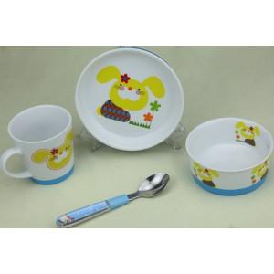 防滑陶瓷儿童餐具
