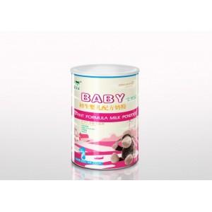 宝贝园小听装1段200g有机婴儿配方奶粉诚招代理