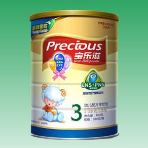 宝乐滋超金装800g羊奶粉3段