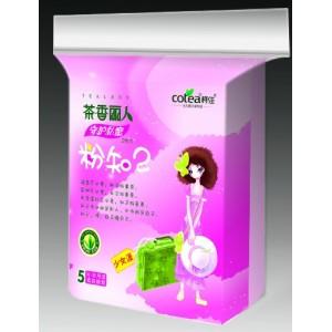 茶香丽人少女系列环保茶叶卫生巾-5片装