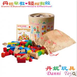 木制玩具批发 供应俄罗斯方块 儿童木制益智玩具