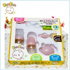 台湾KUNKUN品牌玻璃/PES/PP奶瓶礼盒