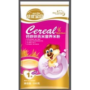 1段钙铁锌贡米营养米粉