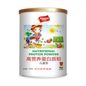 跳跳兔高营养蛋白质粉儿童型诚招全国代理