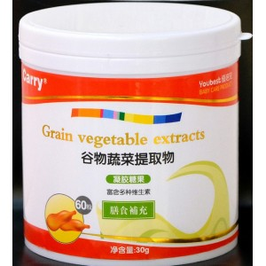 优培儿谷物蔬菜提取物凝胶糖果