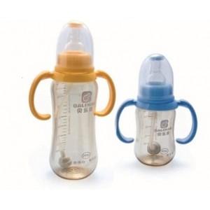 贝乐康旗舰正品 PPSU宽口径全自动双柄小奶瓶,奶瓶