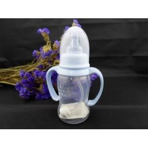 标口双柄 自动 PP圆弧奶瓶,超乳感奶嘴