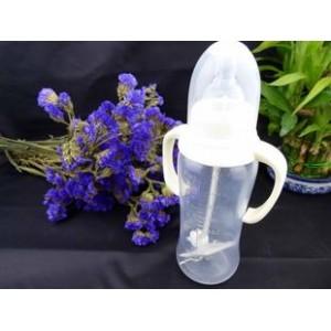 标口 270ml PP弧身奶瓶 塑料无毒奶瓶