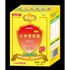 德力滋动物营养小米面条-猪肝味全国招商